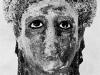 Egyiptomi női fej